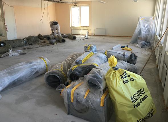 Hjälp med Asbestsanering i Stockholm & Uppsala